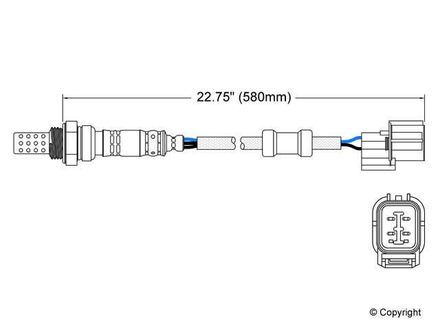 Acura NSX O2 Sensor > Acura NSX Oxygen Sensor