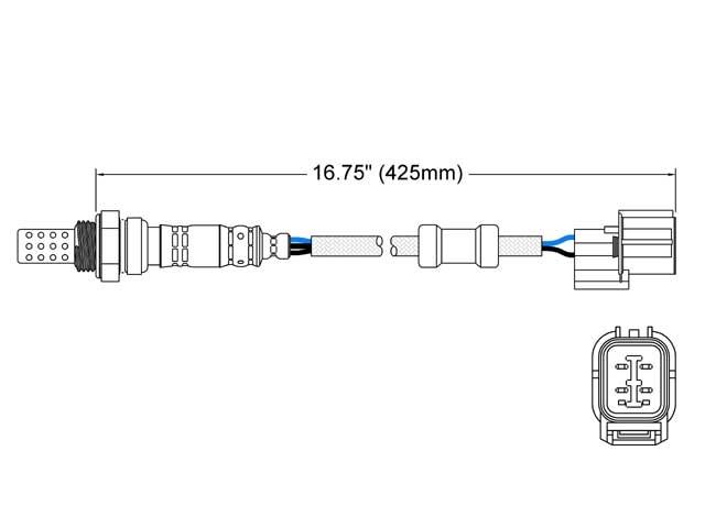 Acura CL Oxygen Sensor > Acura CL Oxygen Sensor
