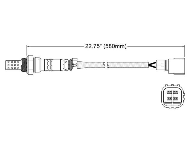 Lexus SC300 O2 Sensor > Lexus SC300 Oxygen Sensor
