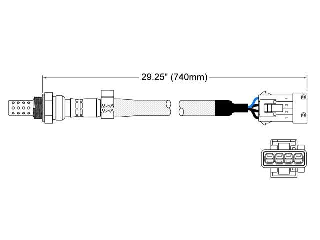 Volvo S70 Oxygen Sensor > Volvo S70 Oxygen Sensor