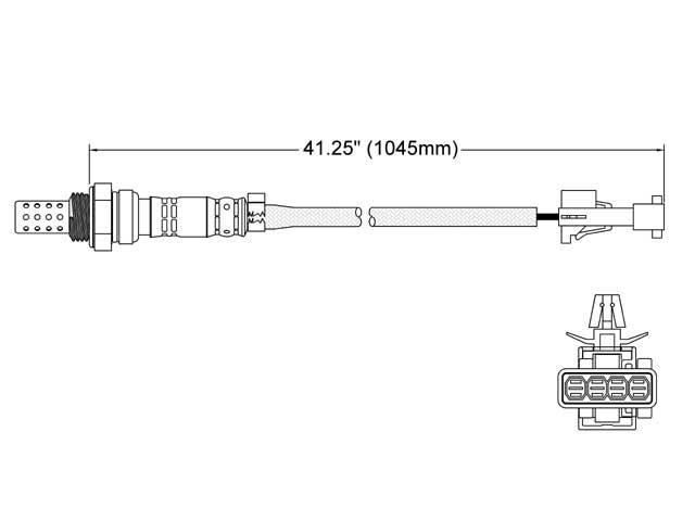 Volvo S80 O2 Sensor > Volvo S80 Oxygen Sensor