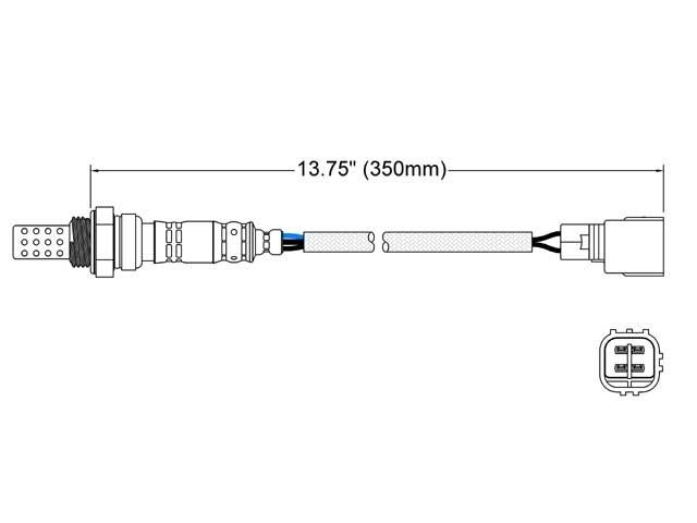 Toyota 4Runner O2 Sensor > Toyota 4Runner Oxygen Sensor