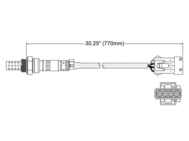 Saab 9-3 Oxygen Sensor > Saab 9-3 Oxygen Sensor