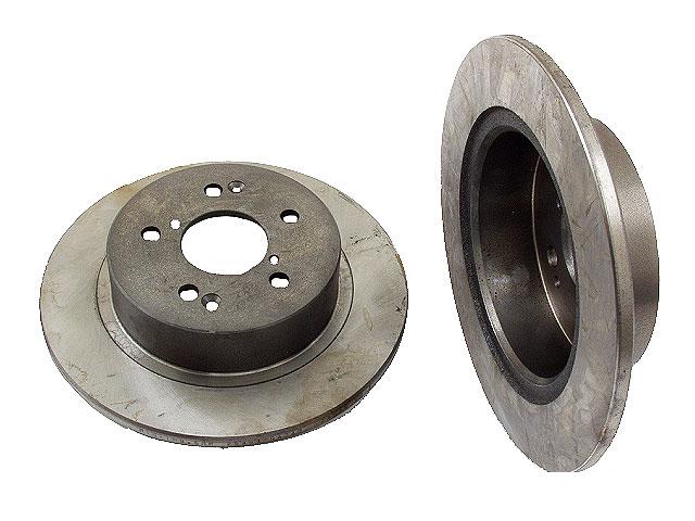 Subaru Brakes > Subaru XT Disc Brake Rotor