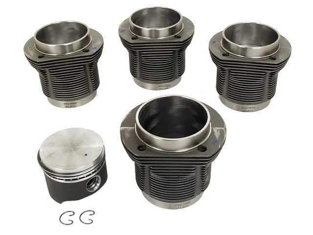VW Piston Set > VW Fastback Engine Piston Set