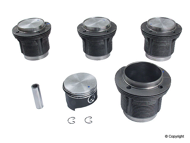 VW Piston Set > VW Karmann Ghia Engine Piston Set