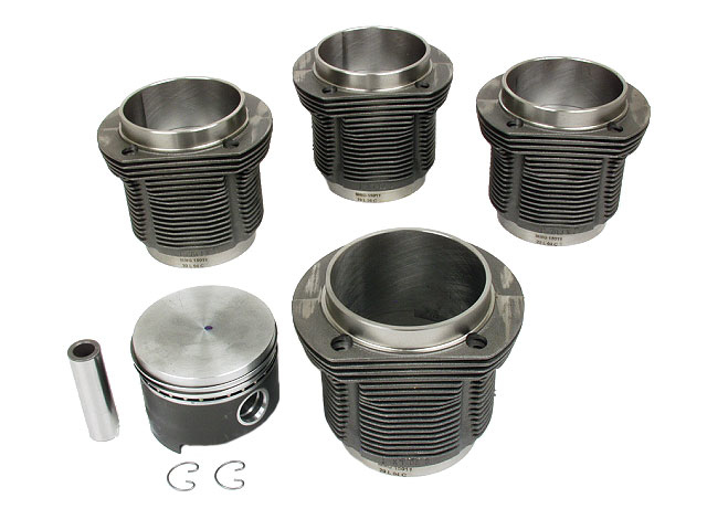 VW Piston Set > VW Squareback Engine Piston Set