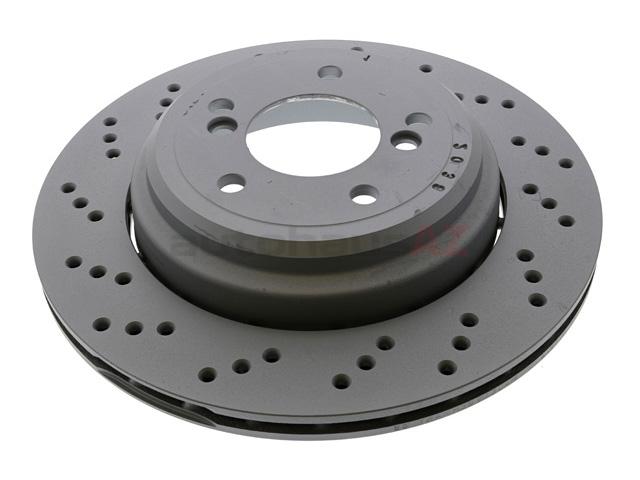 BMW Z4 Rotors > BMW Z4 Disc Brake Rotor