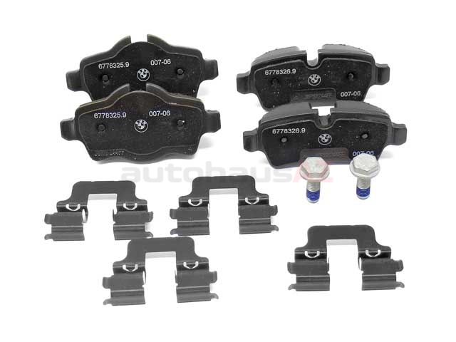 Mini Brake Pad Set > Mini