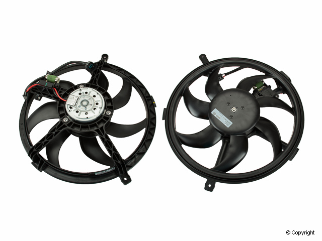 Mini Auxiliary Fan Assembly > Mini Cooper Engine Cooling Fan Assembly