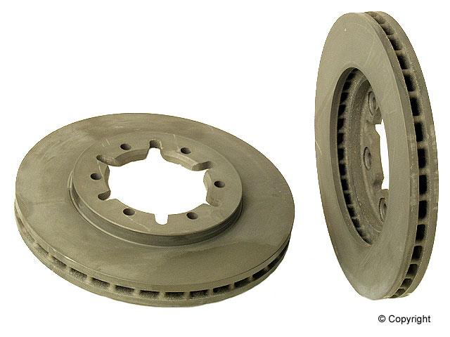 Nissan Frontier Brakes > Nissan Frontier Disc Brake Rotor