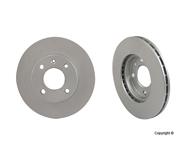 VW Cabrio Rotors > VW Cabriolet Disc Brake Rotor