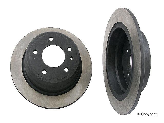 BMW 635CSI Brake Disc > BMW 635CSi Disc Brake Rotor