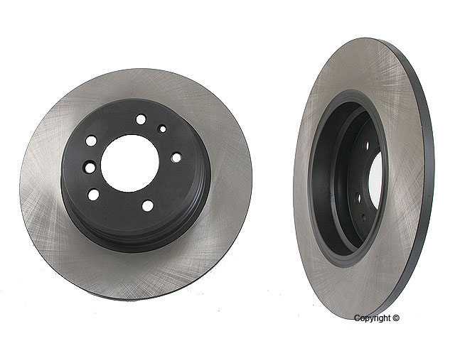 BMW 850i Rotors > BMW 850i Disc Brake Rotor