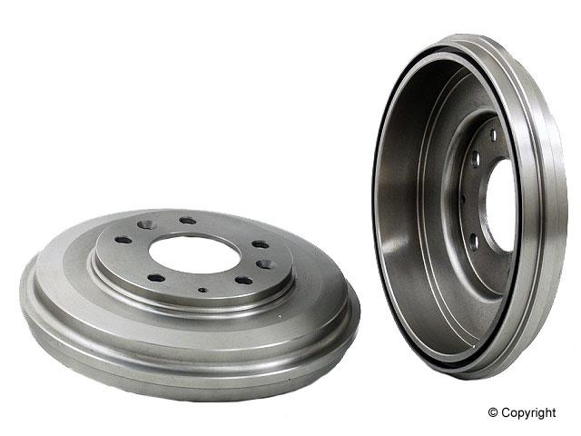 Mazda Brake Drum > Mazda MX-6 Brake Drum