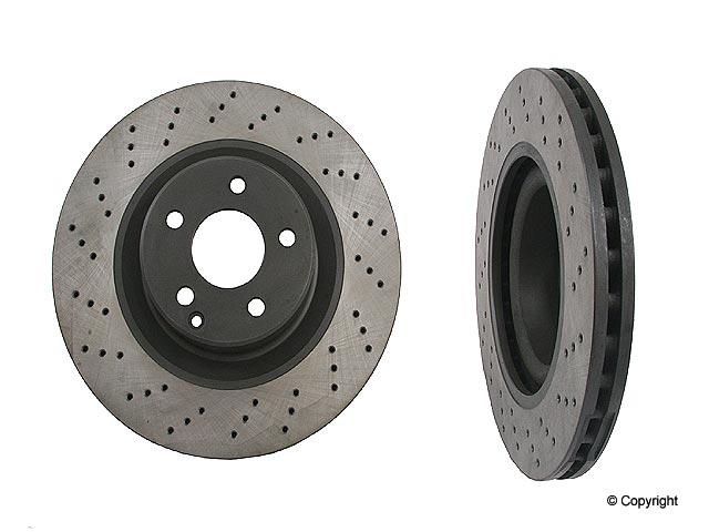 Mercedes S500 Rotors > Mercedes S500 Disc Brake Rotor