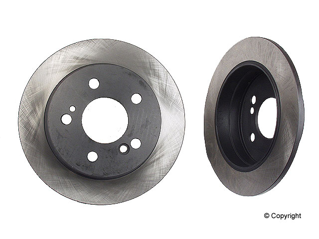 Mercedes 190E Brake Disc > Mercedes 190E Disc Brake Rotor