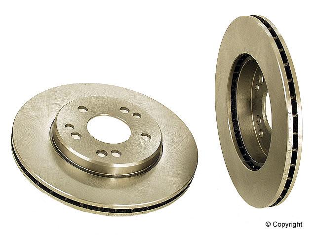Mercedes 300TD Brake Disc > Mercedes 300TD Disc Brake Rotor