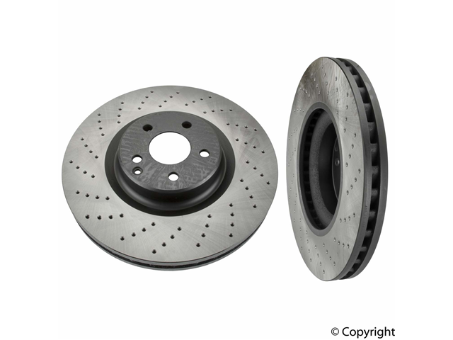 Mercedes SL55 Rotors > Mercedes SL55 AMG Disc Brake Rotor