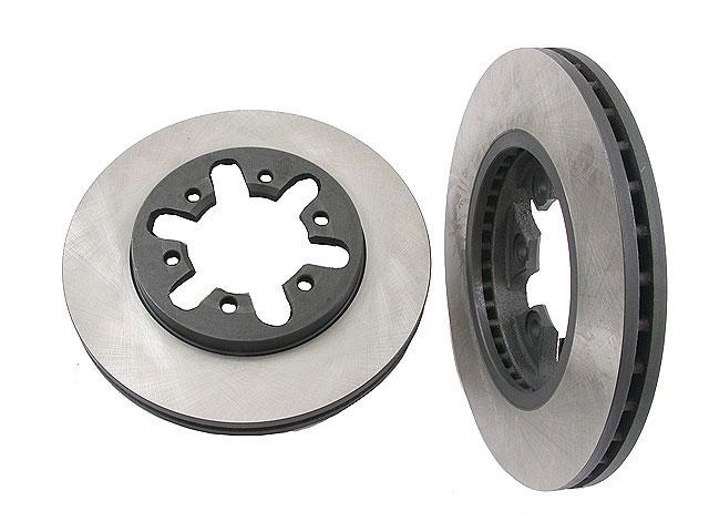 Nissan D21 Brake Disc > Nissan D21 Disc Brake Rotor