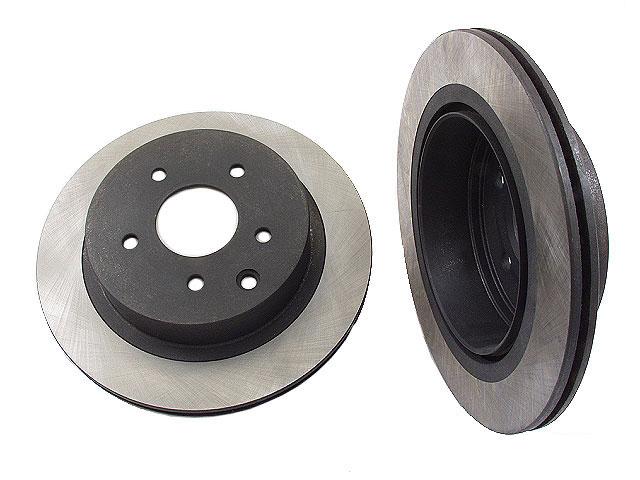 Nissan 300ZX Rotors > Nissan 300ZX Disc Brake Rotor