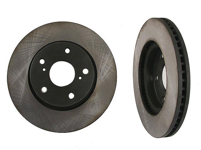 Toyota RAV4 Rotors > Toyota RAV4 Disc Brake Rotor