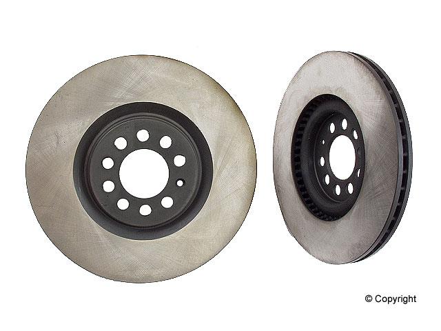 Audi Rotors > Audi TT Quattro Disc Brake Rotor