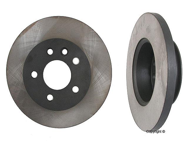 VW Brakes > VW EuroVan Disc Brake Rotor