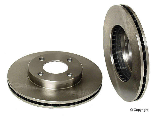 VW Cabrio Rotors > VW Cabrio Disc Brake Rotor