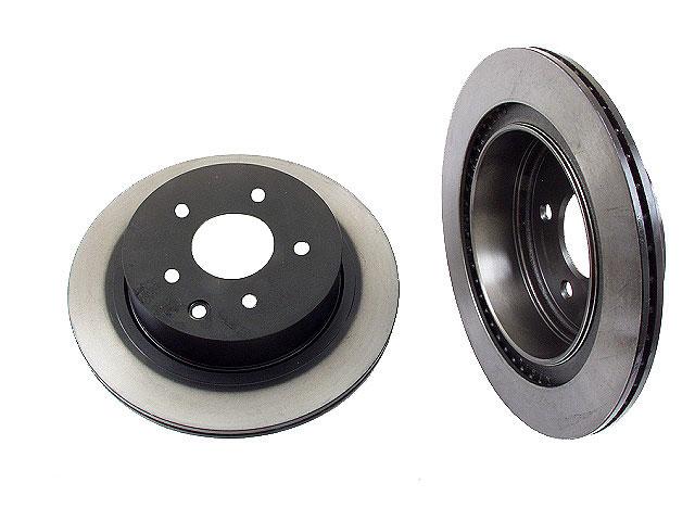 Nissan 350Z Rotors > Nissan 350Z Disc Brake Rotor