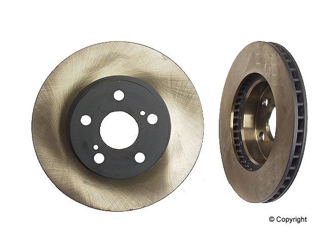 Toyota Prius Brakes > Toyota Prius Disc Brake Rotor