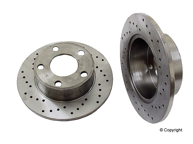 Audi Brakes > Audi 5000 Disc Brake Rotor