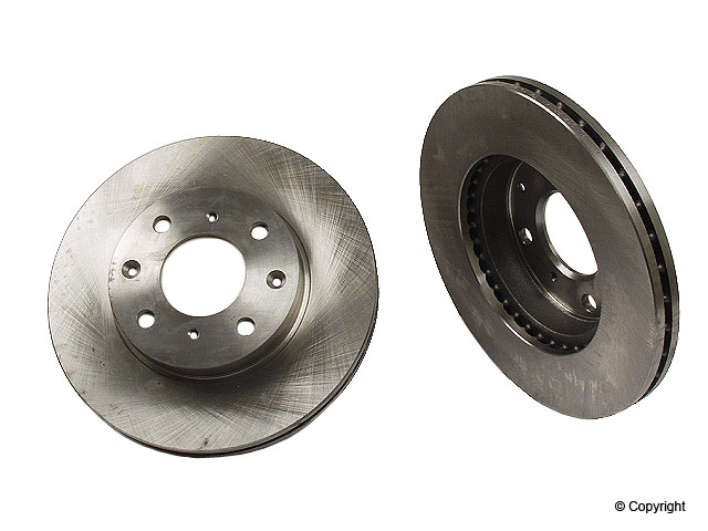 Honda Brake Disc > Honda Civic Del Sol Disc Brake Rotor