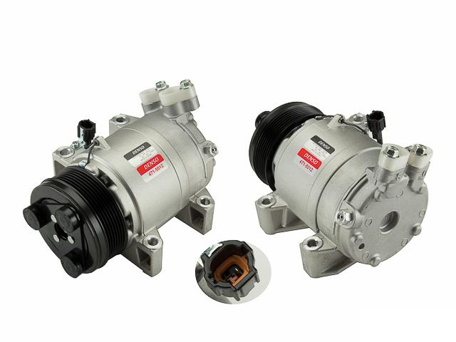 Nissan Titan AC Compressor > Nissan Titan A/C Compressor