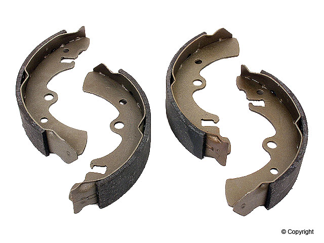 Nissan Brake Shoe Set > Nissan Stanza Drum Brake Shoe