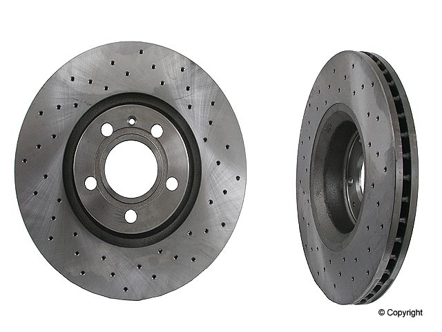 Audi Brake Rotors > Audi A6 Quattro Disc Brake Rotor