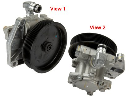 Mercedes ML350 Power Steering Pump > Mercedes ML350 Power Steering Pump