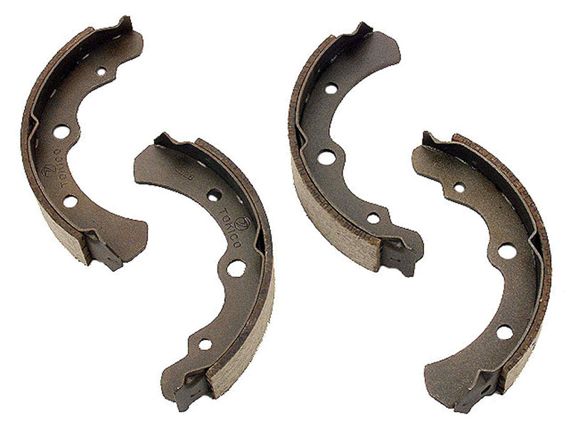 Subaru Brake Shoe Set > Subaru DL Drum Brake Shoe