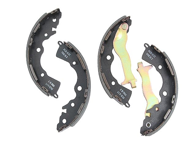 Hyundai Brake Shoe Set > Hyundai Accent Drum Brake Shoe