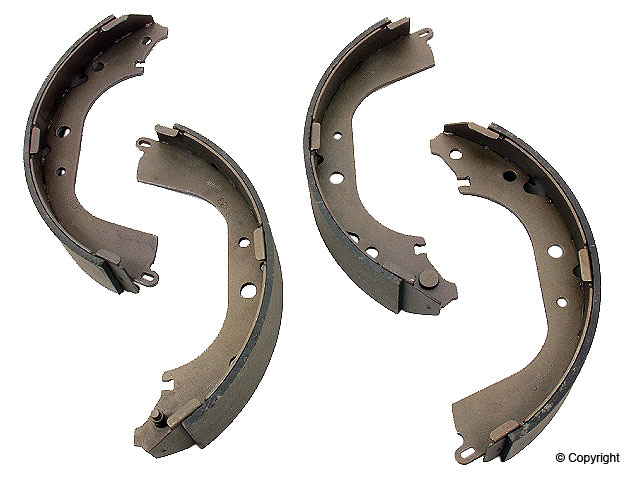 Toyota Brake Shoe Set > Toyota 4Runner Drum Brake Shoe