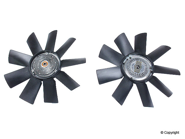 Mercedes 350SDL Fan Clutch > Mercedes 350SDL Engine Cooling Fan Clutch