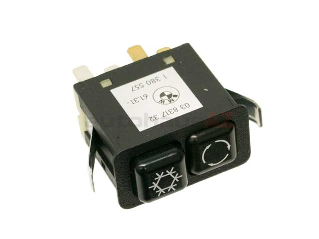 BMW AC Temperature Switch > BMW 325iX A/C Control Switch