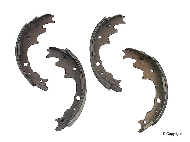 Mazda Brake Shoe Set > Mazda B4000 Drum Brake Shoe