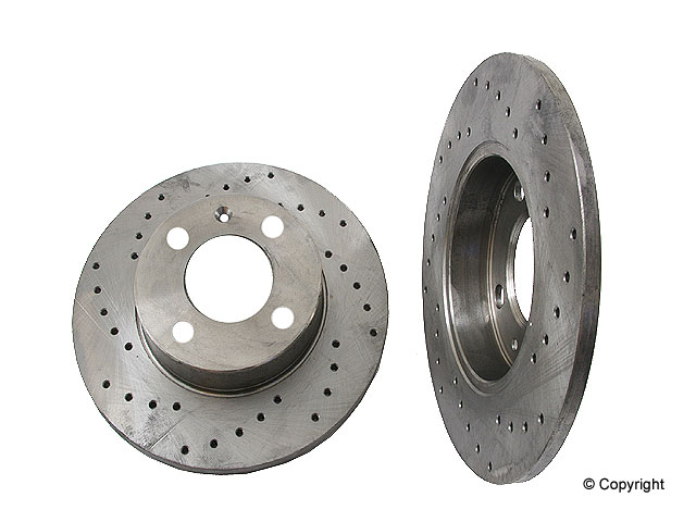 VW Quantum Rotors > VW Quantum Disc Brake Rotor