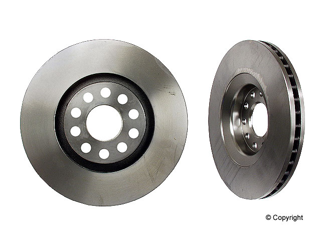 Audi allroad Brake Disc > Audi allroad Quattro Disc Brake Rotor