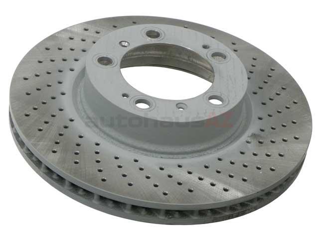 Porsche Brakes > Porsche Boxster Disc Brake Rotor