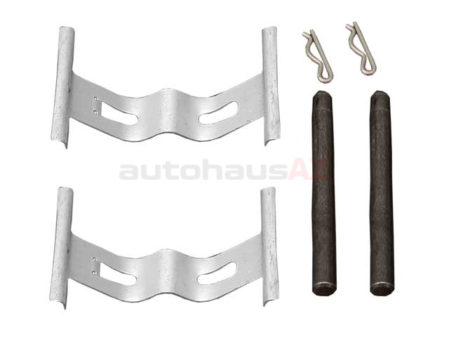 Porsche Brake Hardware Kit > Porsche Boxster Disc Brake Hardware Kit