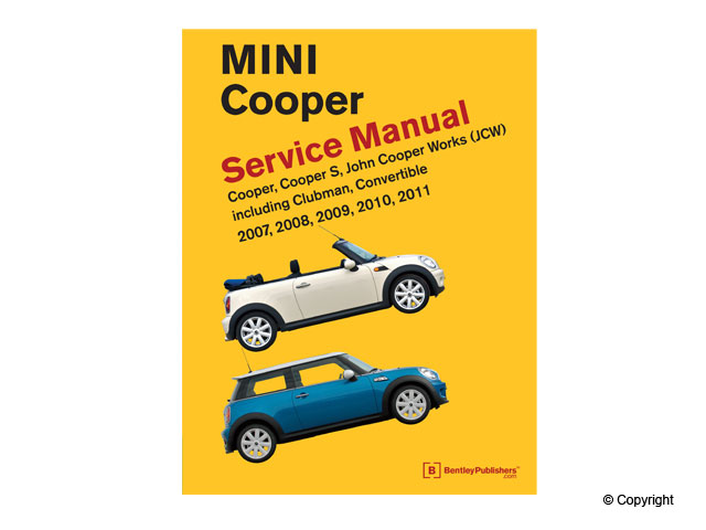 Mini Repair Manual > Mini Cooper Repair Manual