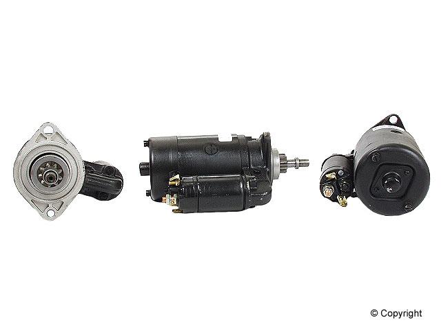 Volkswagen Starter > VW Karmann Ghia Starter Motor