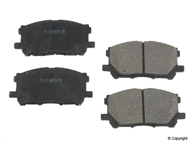 Toyota Highlander > Toyota Highlander Disc Brake Pad